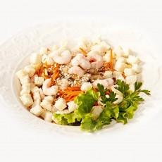 Rytietiškos salotos su krevetėmis Trakų Vokėje