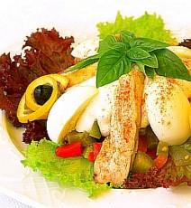 Vištienos salotos Trakų Vokėje