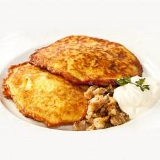 Bulviniai blynai su mėsa Vilniuje